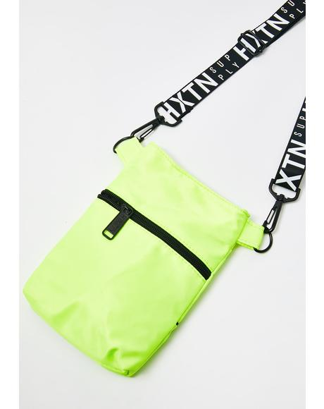 Neon Yellow Prime Shoulder Bag