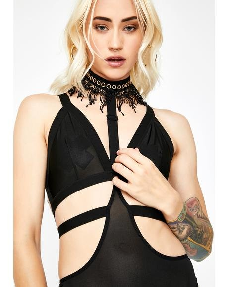 Do It Right Cut Out Bodysuit