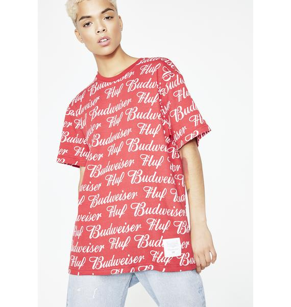 HUF x Budweiser Knit Shirt
