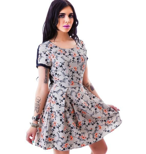 Midsummer Dream Floral Dress