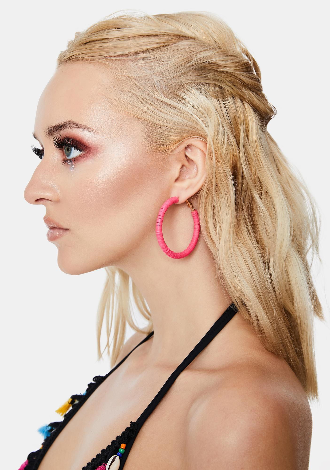 Reaching New Heights Hoop Earrings Set