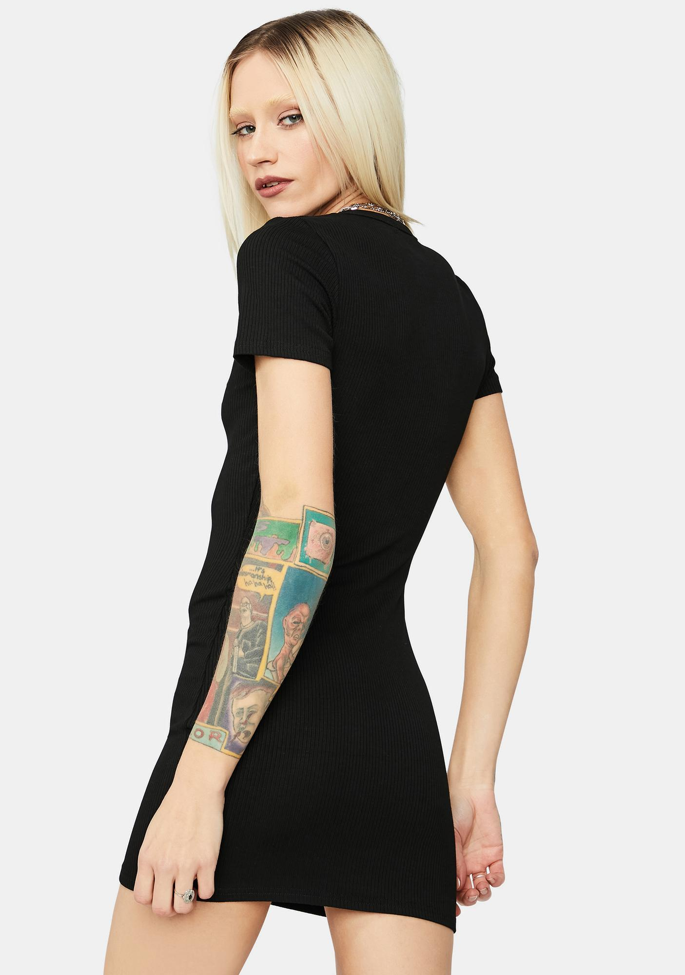 Wicked Gettin Money Honey Mini Dress