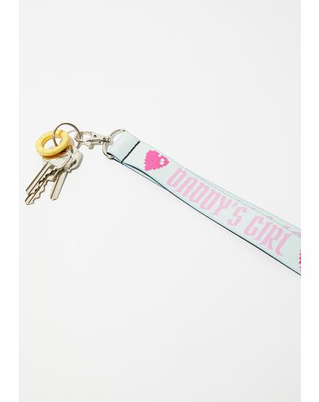 Daddy's Girl Lanyard