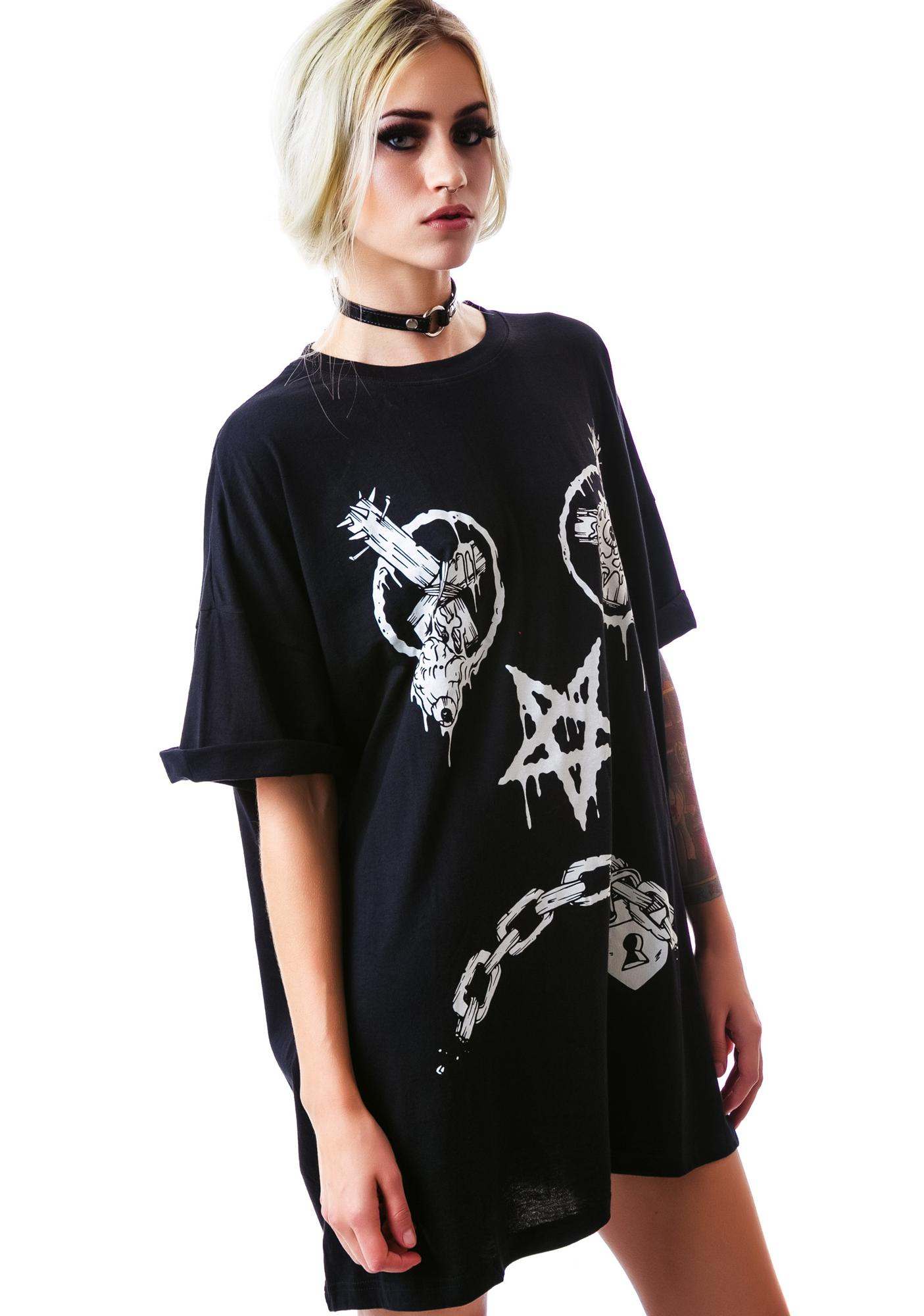 Long Clothing x Mishka Vex Oversize Tee