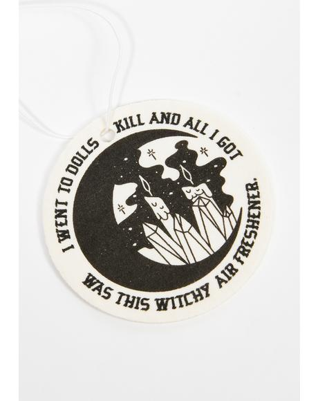 Basic Witch Air Freshener