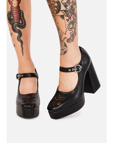 Growing Up Platform Heels