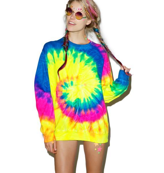 Neon Eternity Sweatshirt