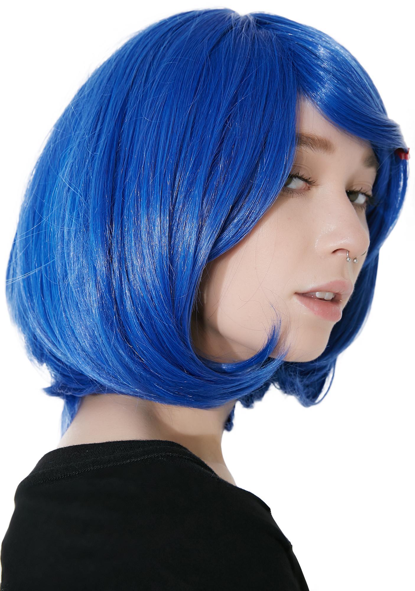 Rockstar Wigs Cobalt Cutie Bob Wig