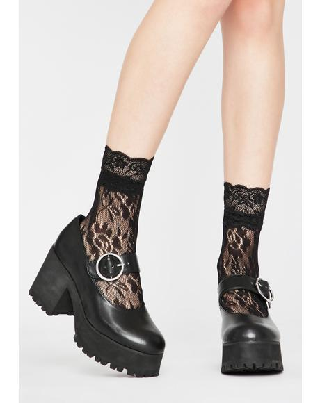 Lover Grl Lace Socks