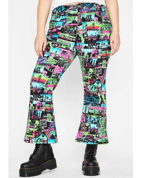 Ur Untamed Odyssey Flare Pants