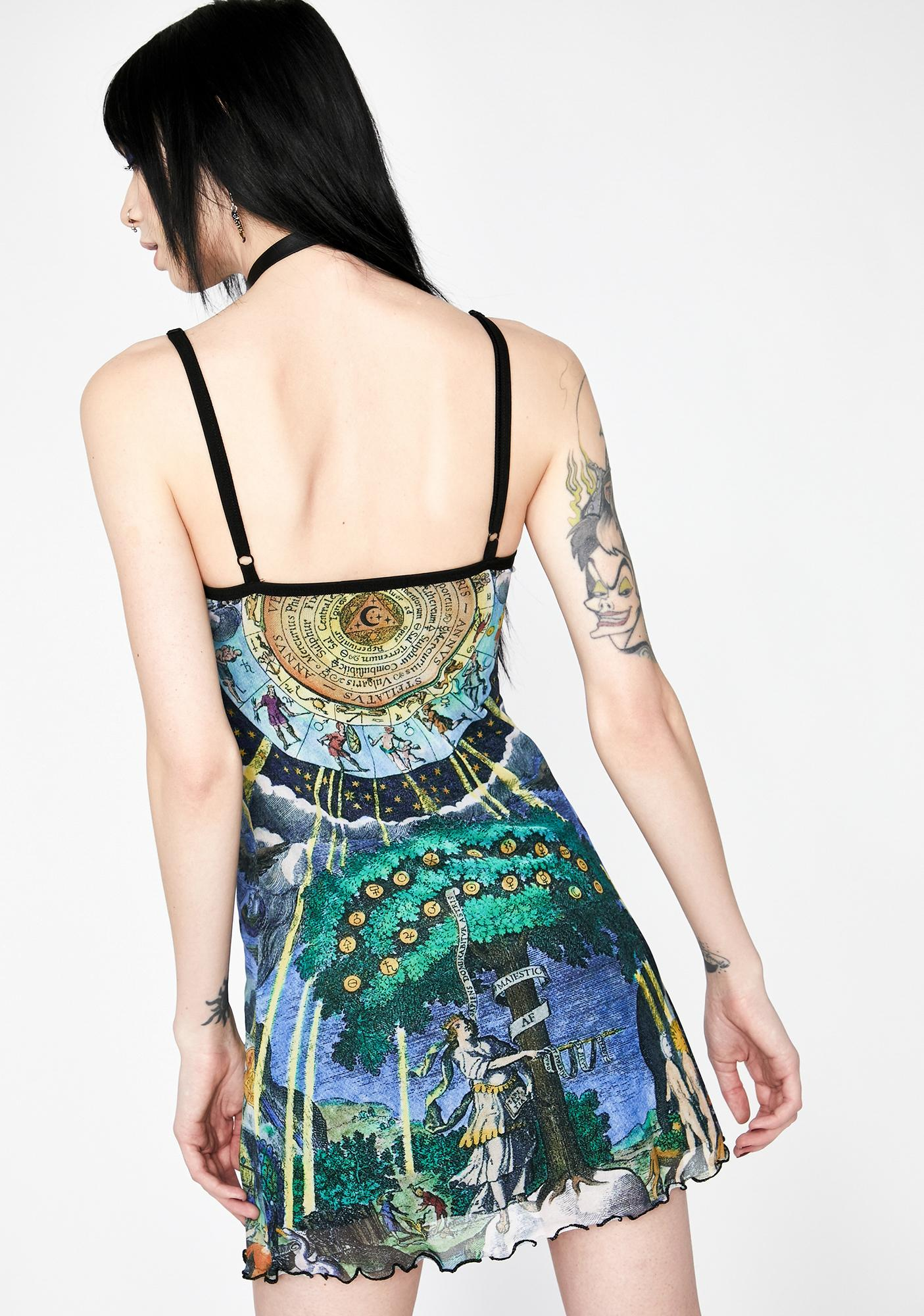 HOROSCOPEZ Illusions N' Delusions Mesh Dress