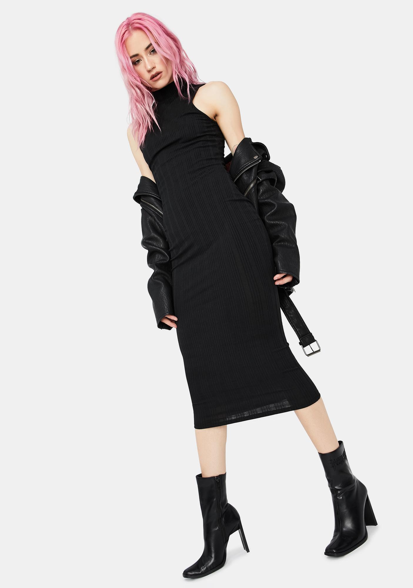 You'll Be Back Tank Midi Dress