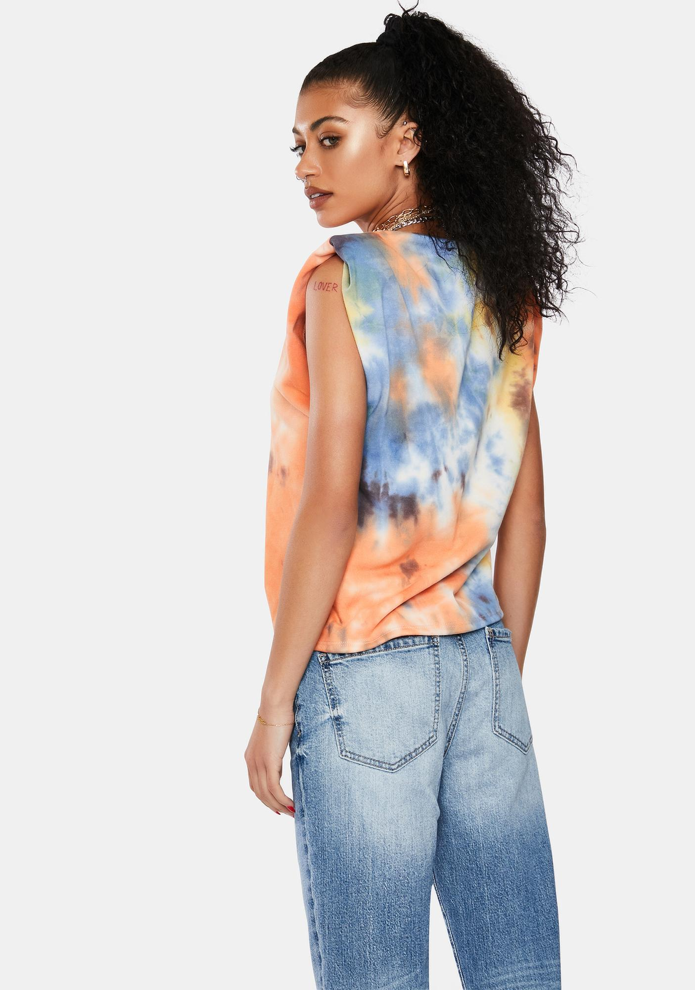 Forgotten Crush Tie Dye Muscle Tank