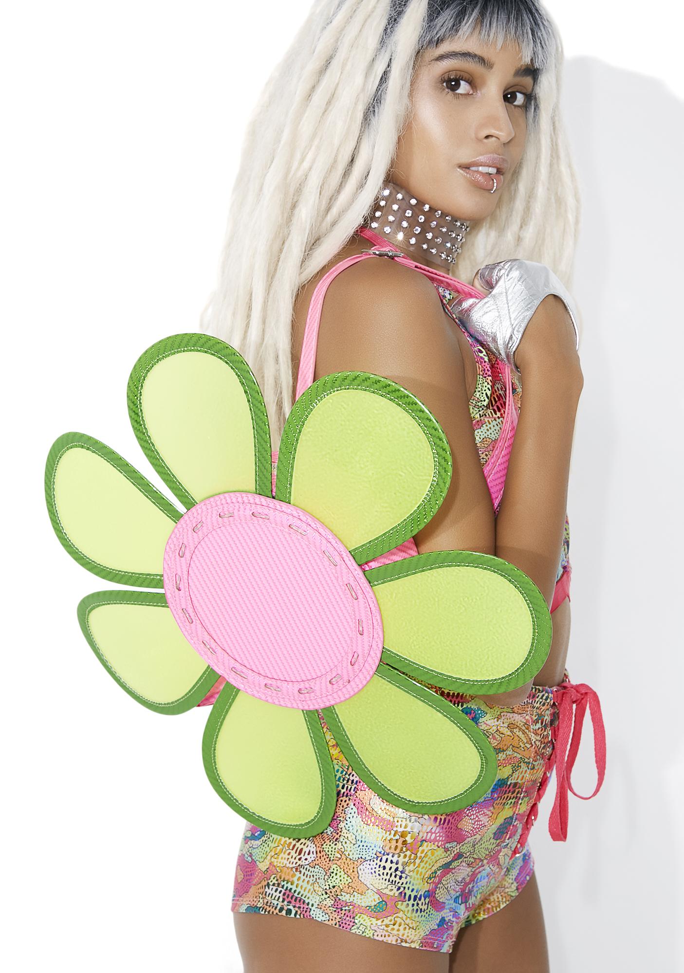 Club Exx Night Bloomz Light-Up Mini Backpack