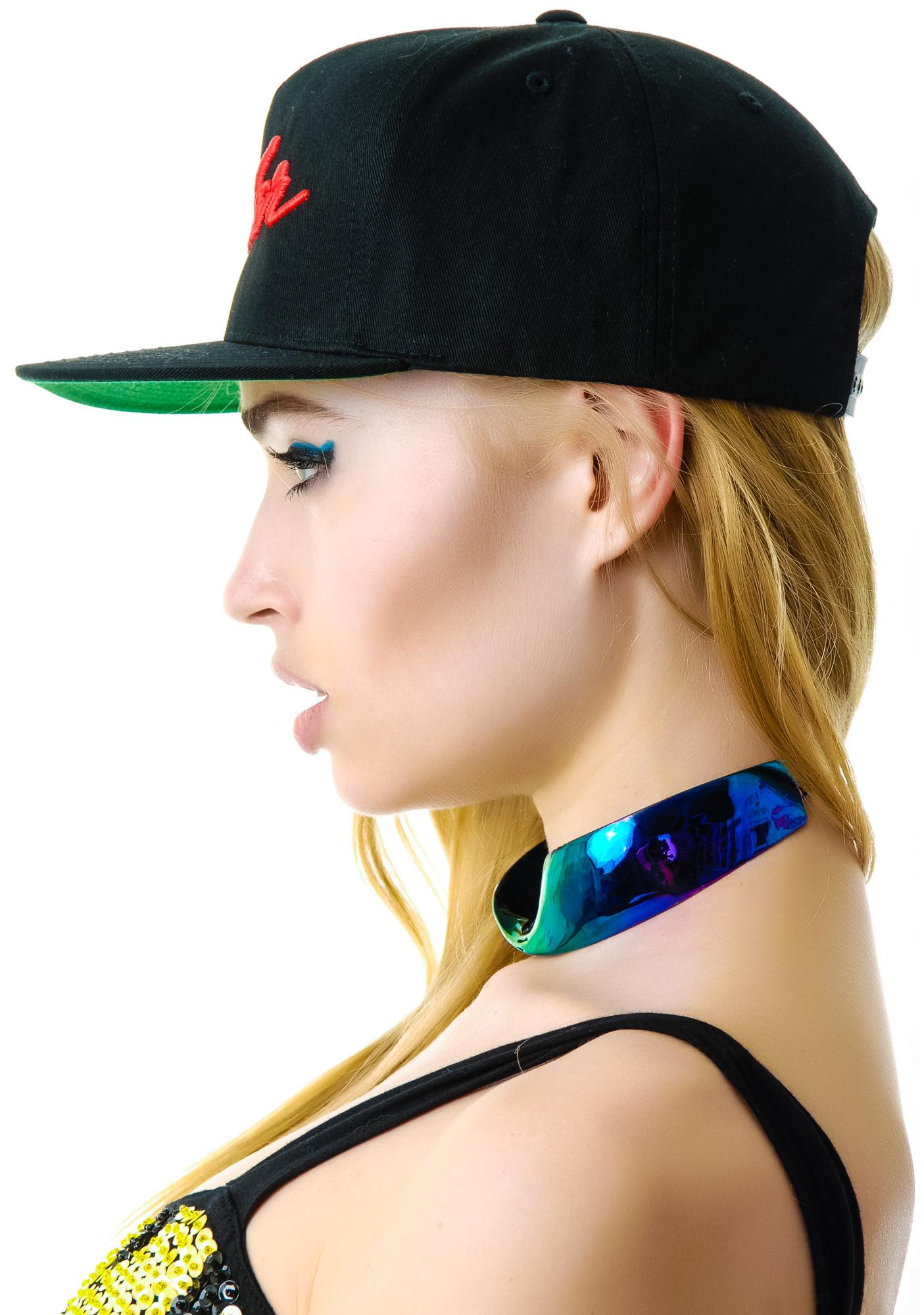 Petals and Peacocks Bender Snapback