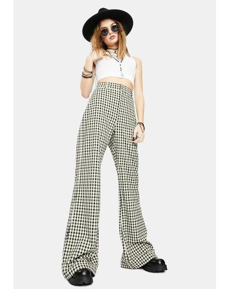 Plaid Jules Pants