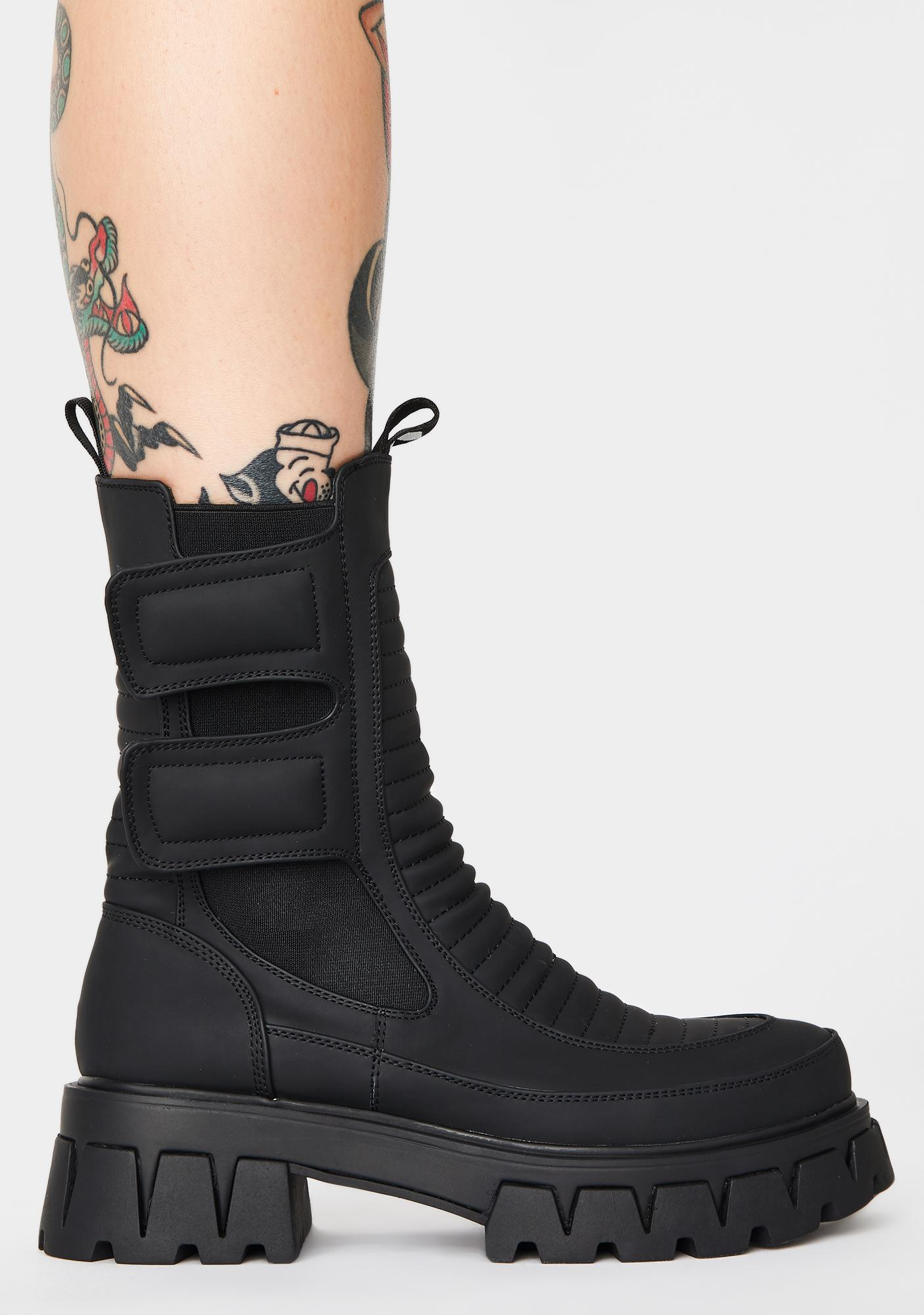 Koi Footwear Vader Ankle Boots