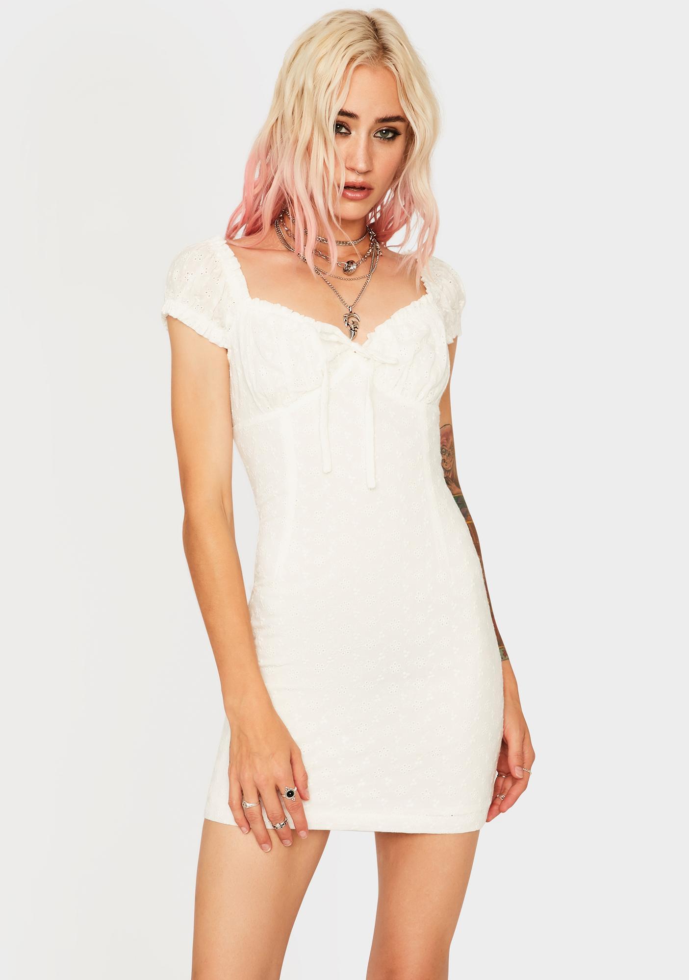 Keep It Light Mini Dress