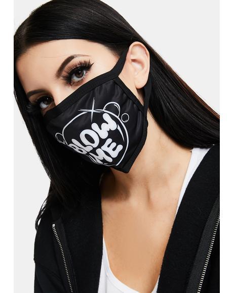 Blow Me Bubbles Face Mask