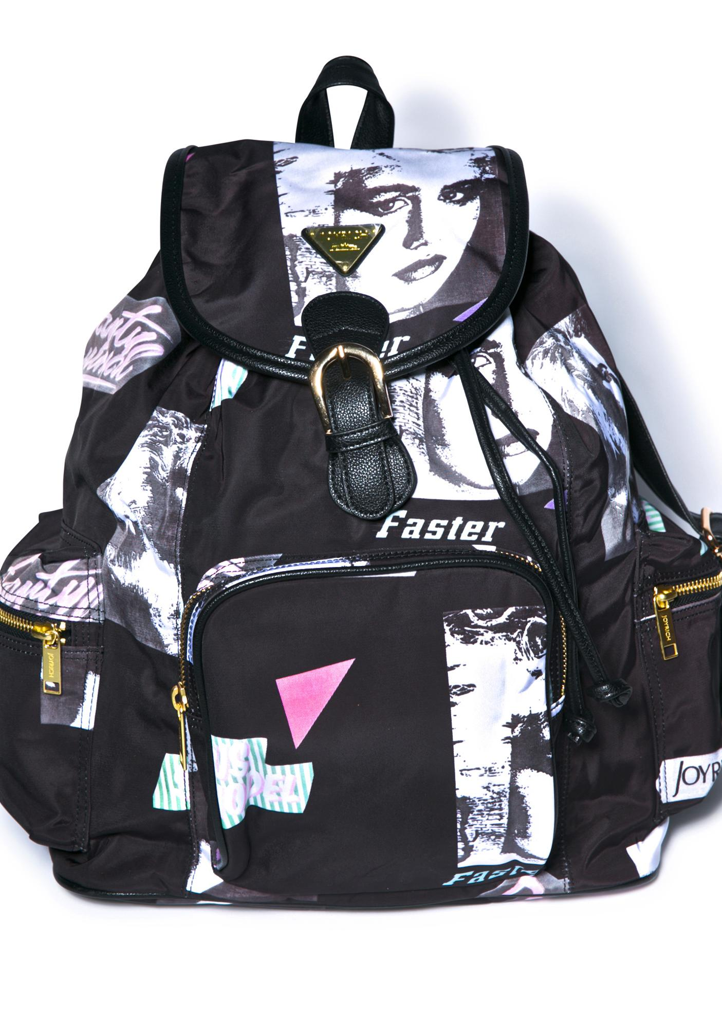 Joyrich Editorial Map Mini Backpack