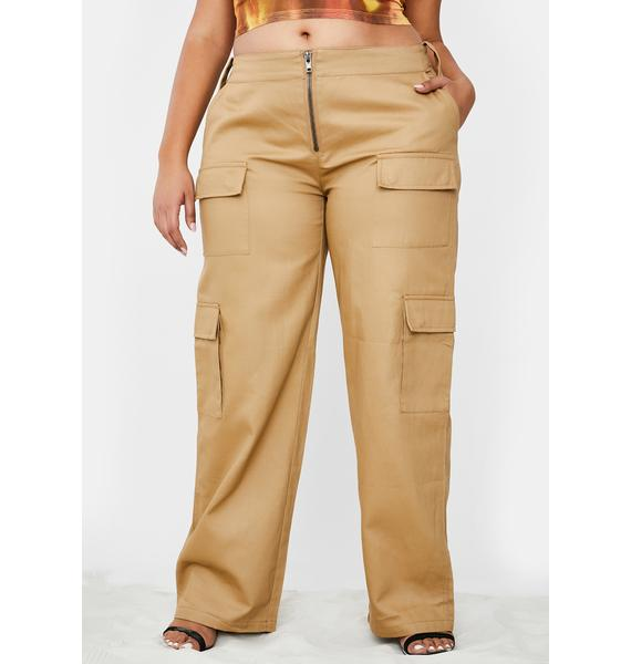 Poster Grl Booked Meetings On Rodeo Cargo Pants