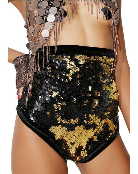 Gold Ritual Shorts