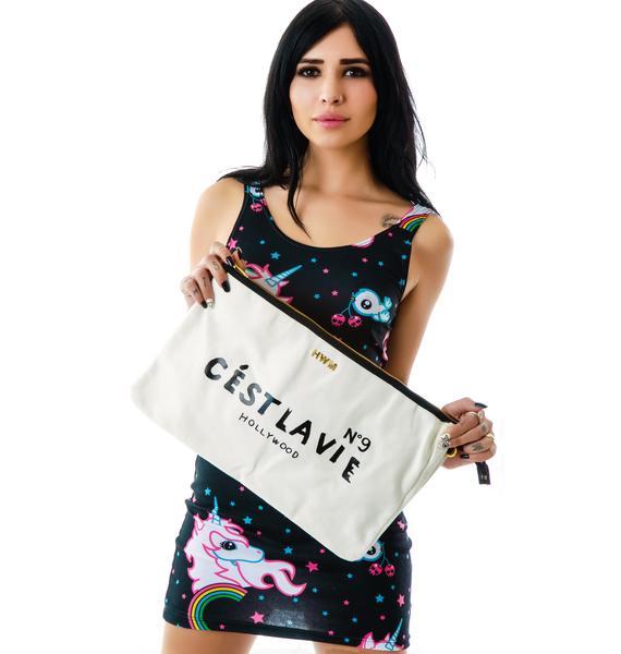 Hollywood Made UC Cest Clutch Bag