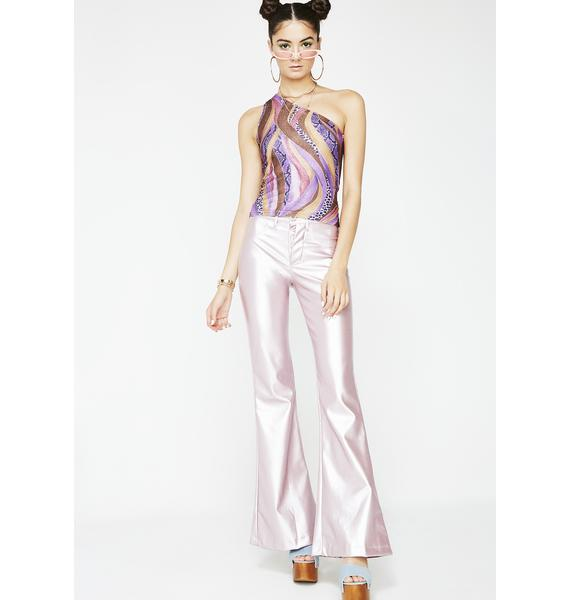American Deadstock Slither Asymmetrical Top