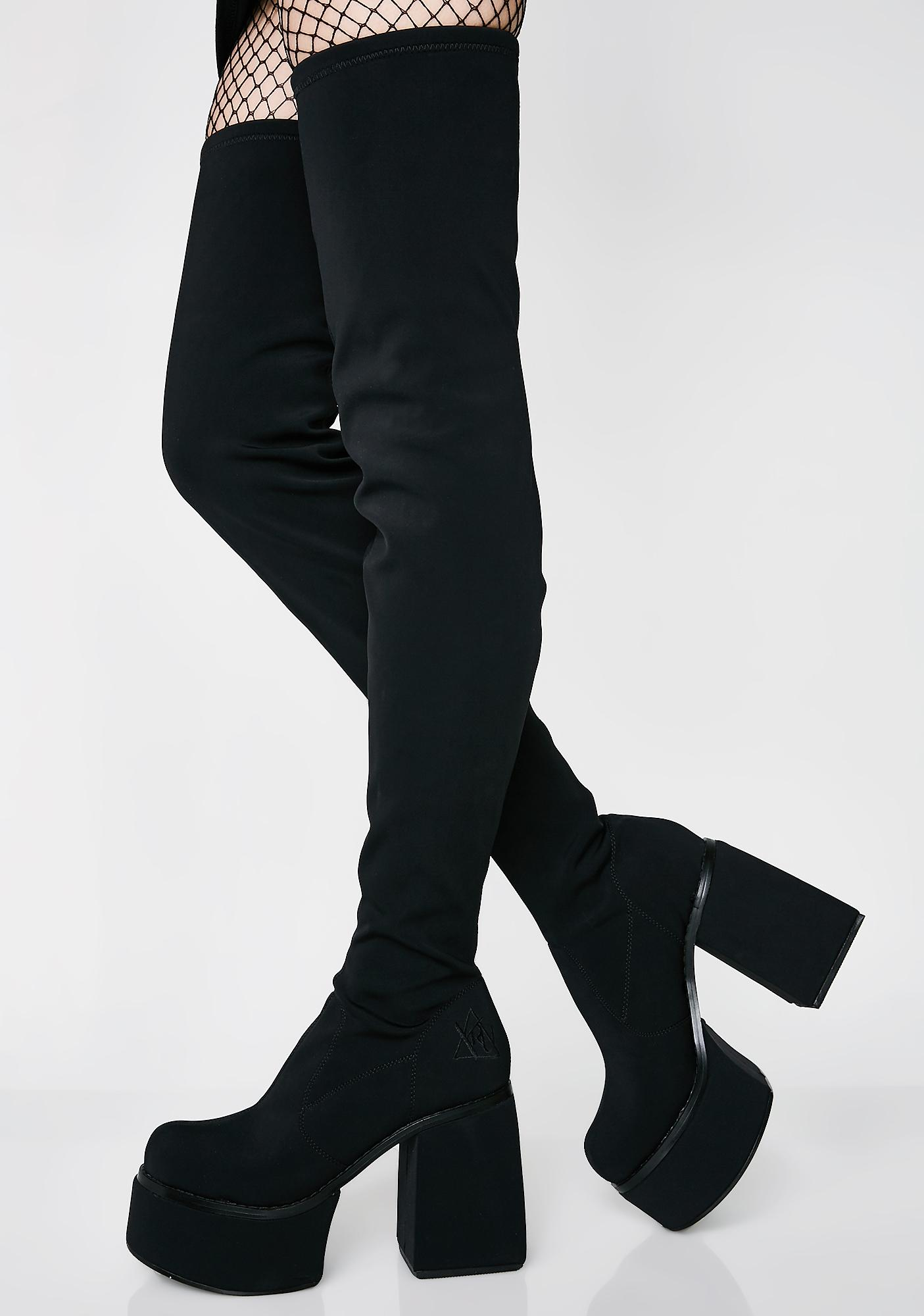 Y.R.U. Vida Thigh High Boots