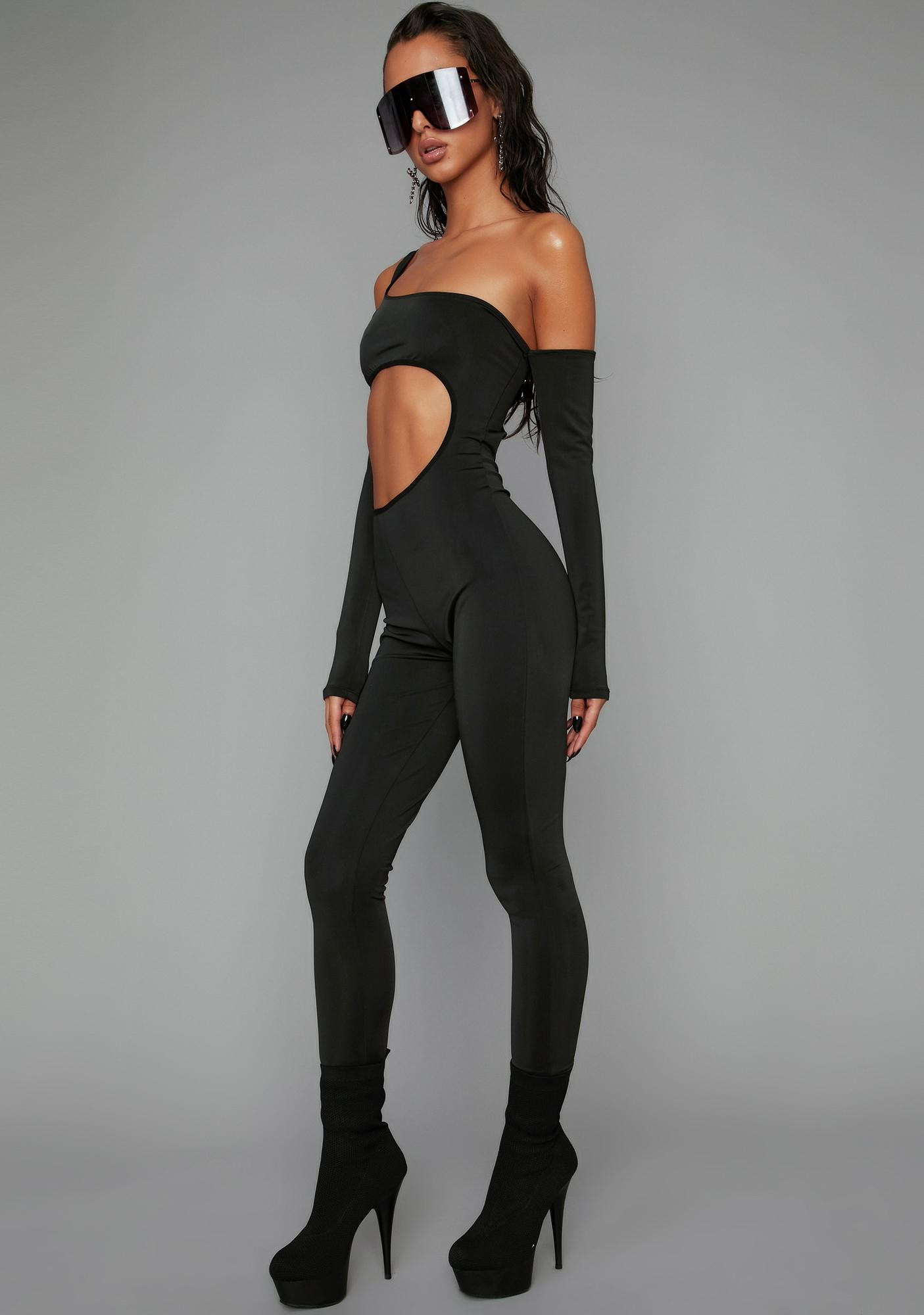 Poster Grl Fashion Week Cut Out Catsuit