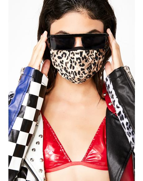 Feline Feisty Leopard Mask