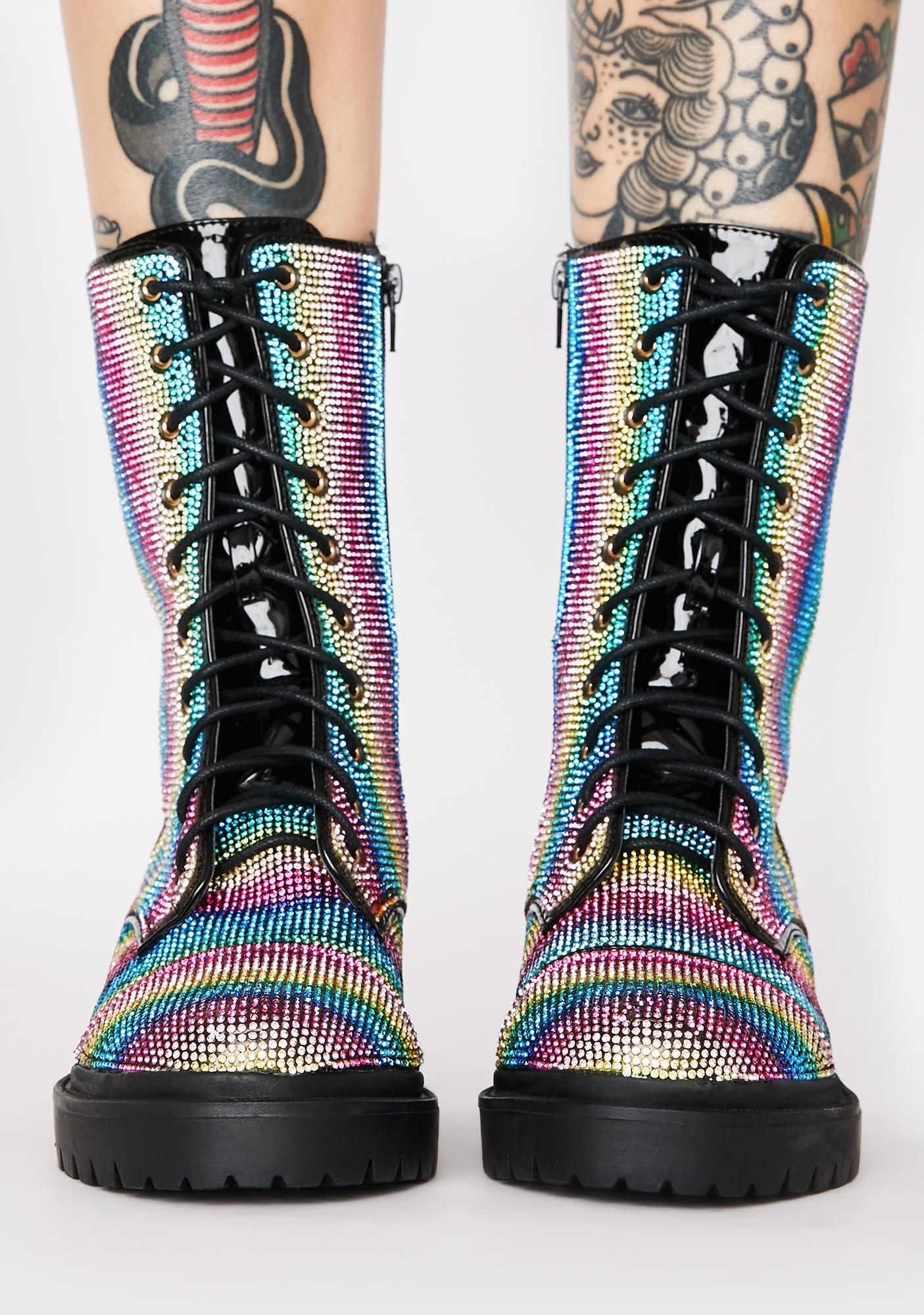 Freak Galore Ankle Boots