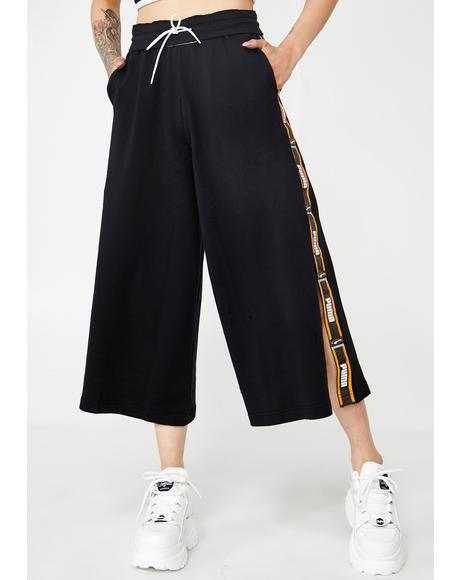 90s Retro Culottes Pants