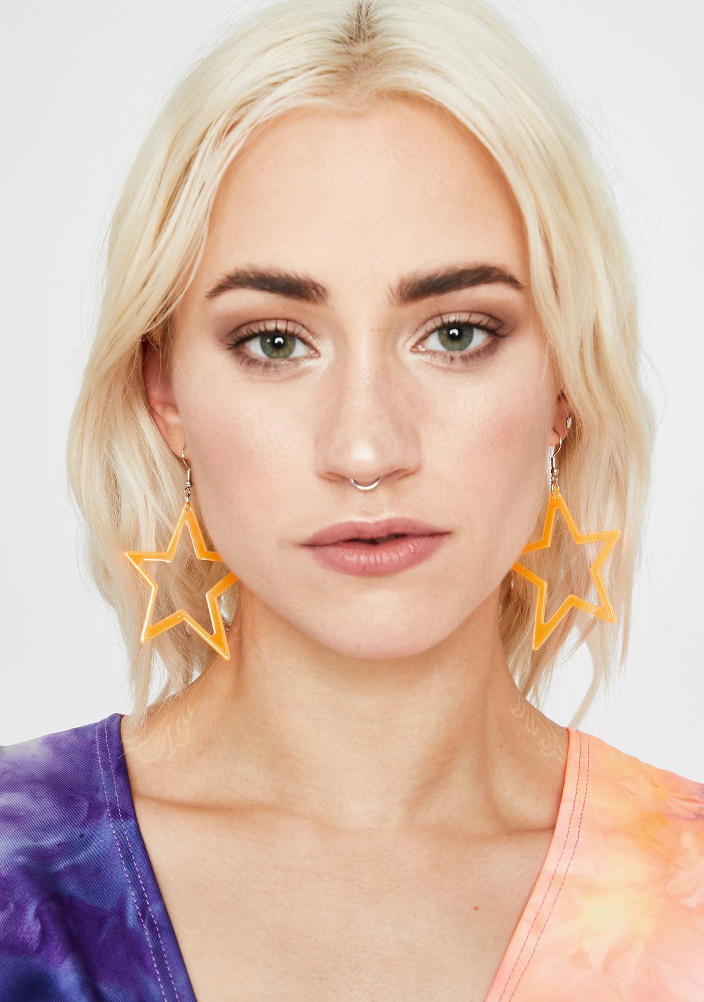 My Clarity Star Earrings