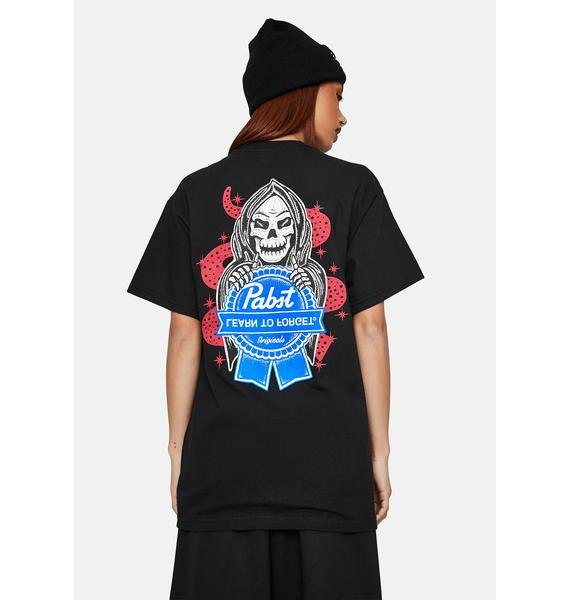 Learn To Forget x PBR Reaper Graphic Tee