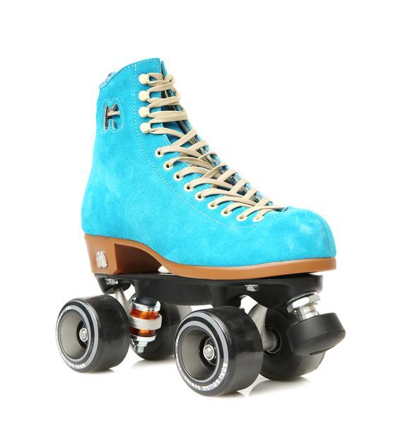 Moxi Roller Skates Blue Lolly Skates