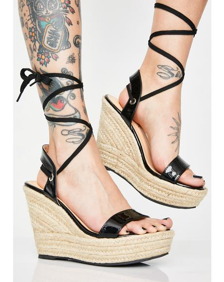 d31d715a624d Brunch Babes Lace Up Wedges ...