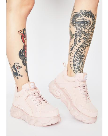 Light Pink Corin Platform Sneakers