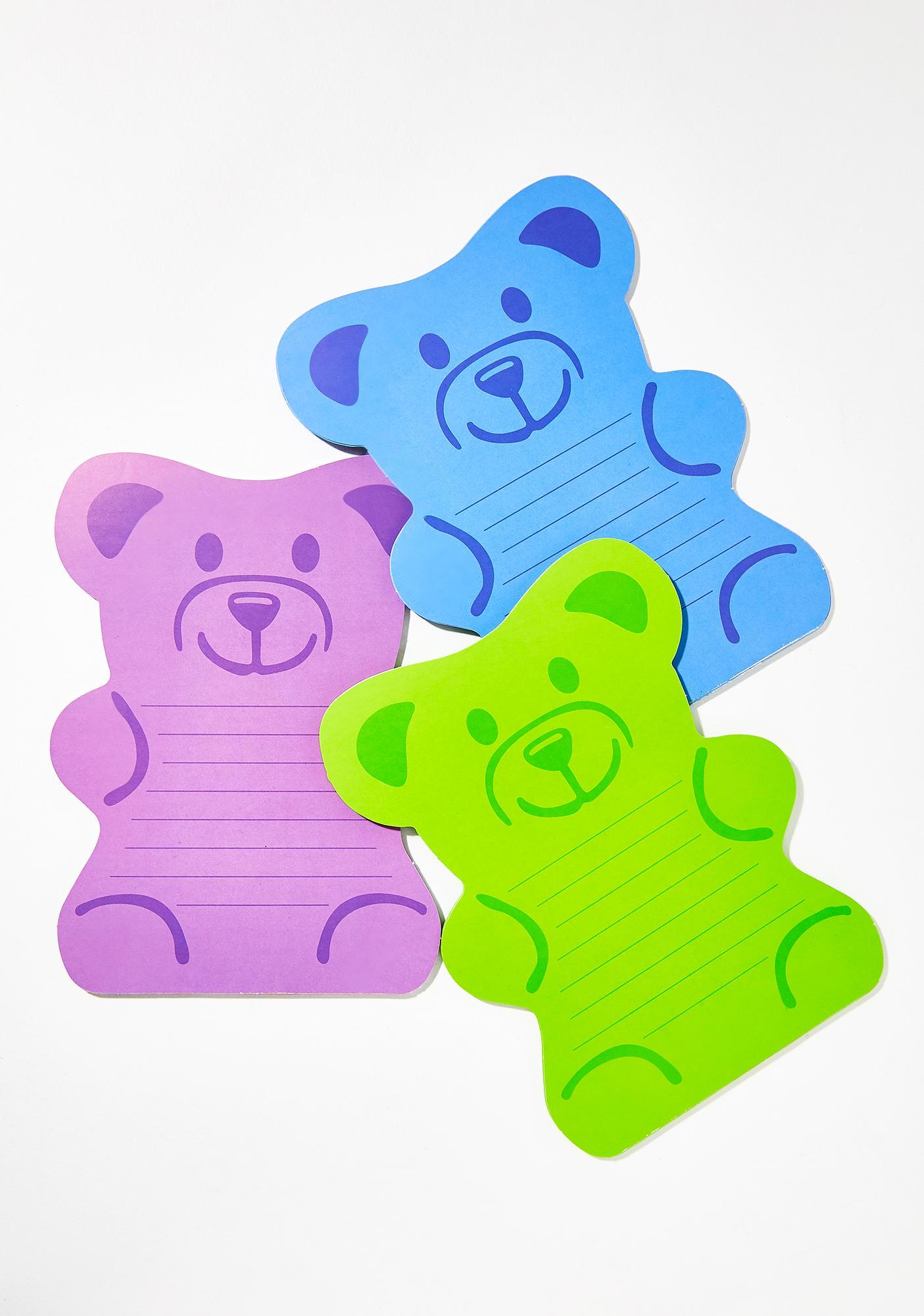 Beary Sweet Note Pad Set