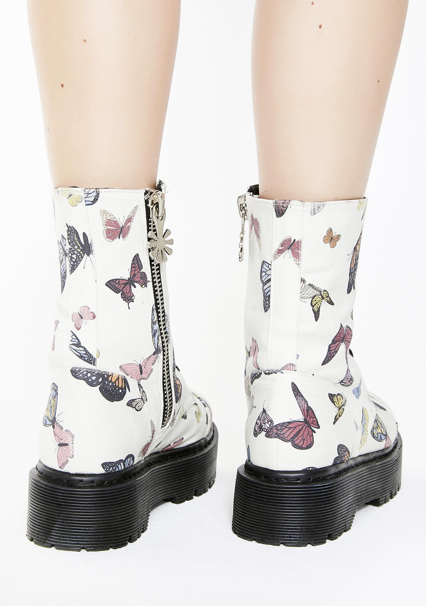 dELiA*s by Dolls Kill Lady Monarch Combat Boots