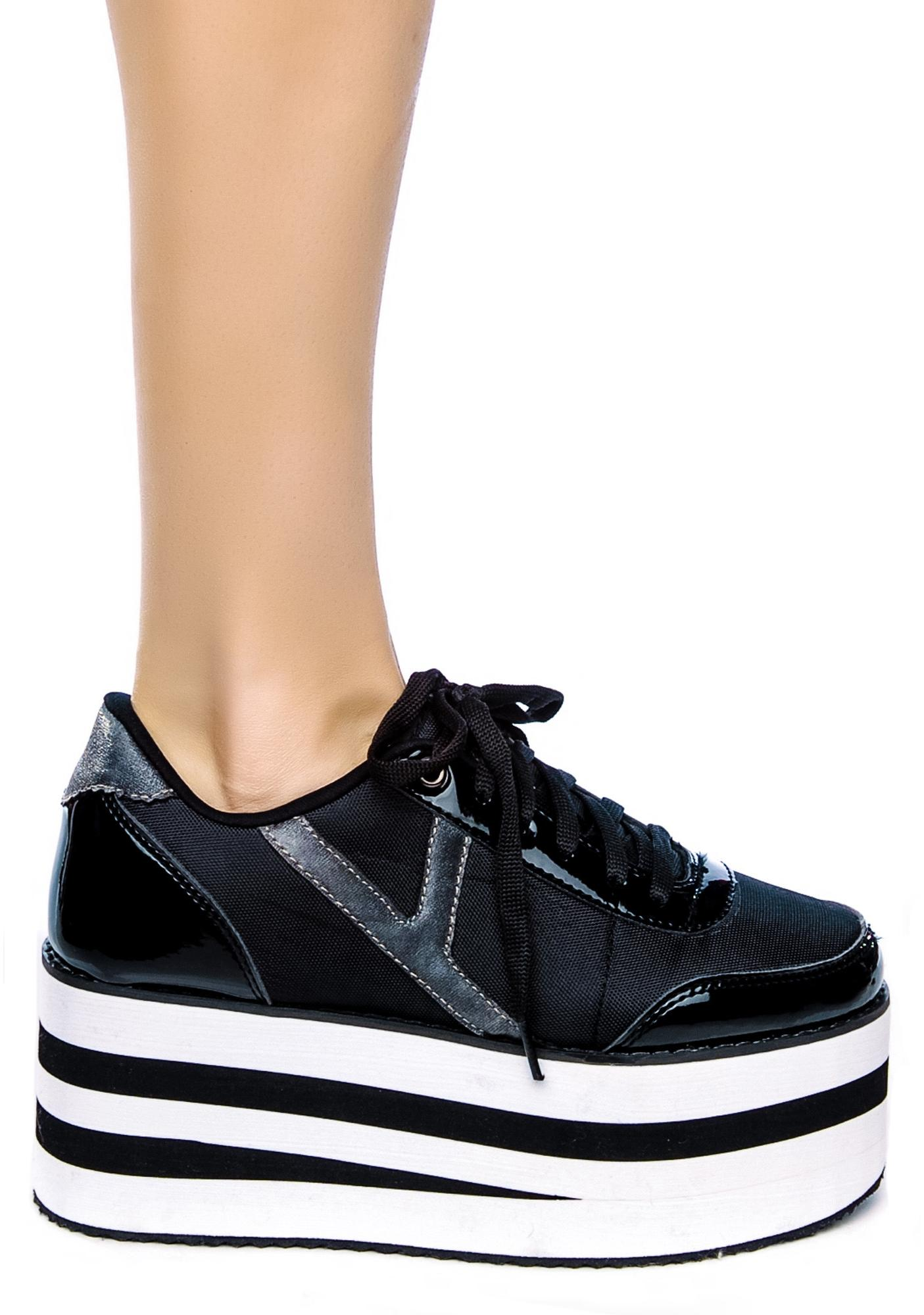 Y.R.U. Krazii Platform Sneakers | Dolls Kill