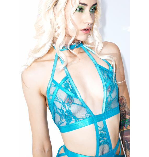 Le Fleur Strappy Bodysuit