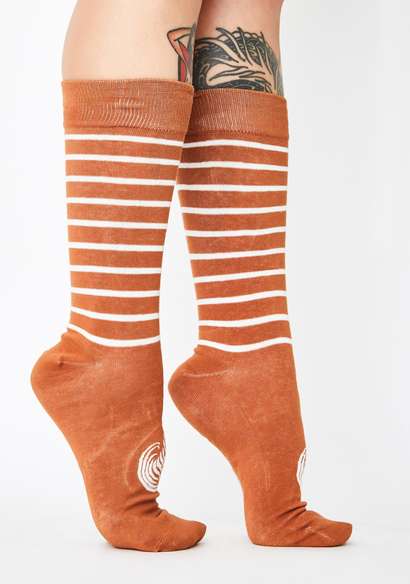 Just One Sip Crew Socks