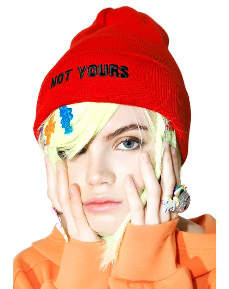 Not Yours Beanie