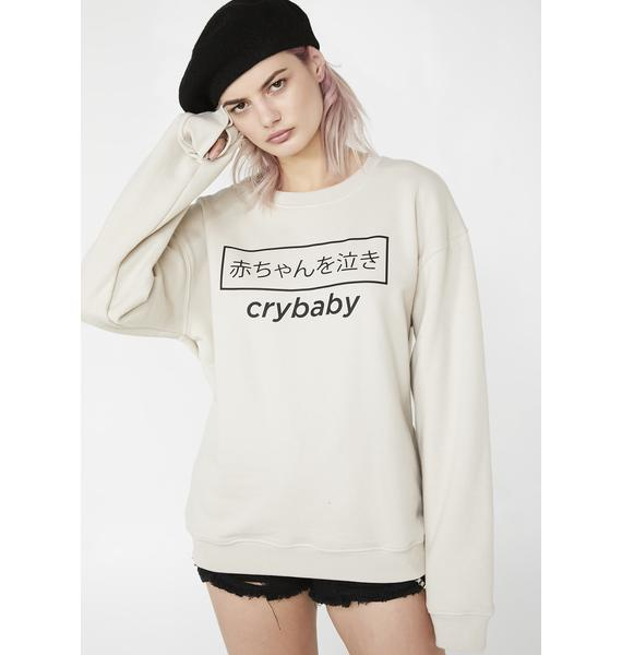 Minga Cry Baby Japanese Sweater