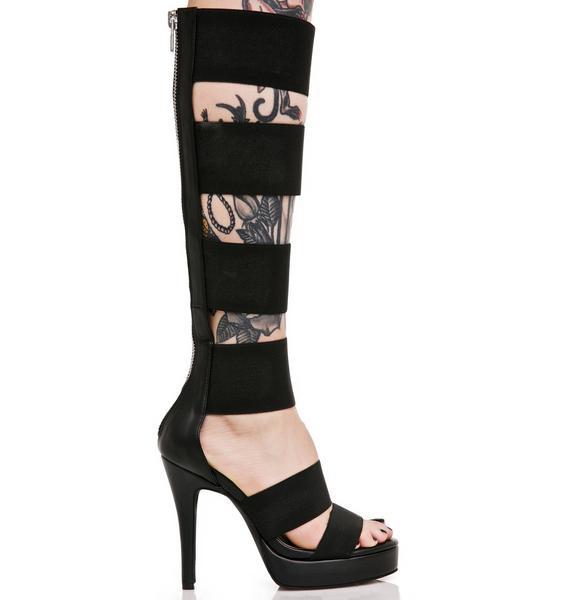 Current Mood Elastica Heels