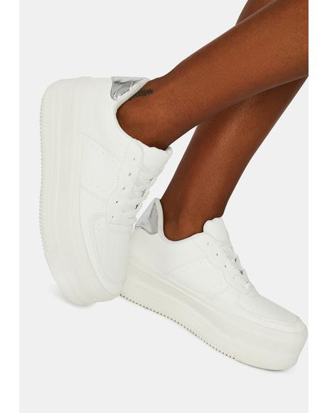 Stay On It Platform Sneakers