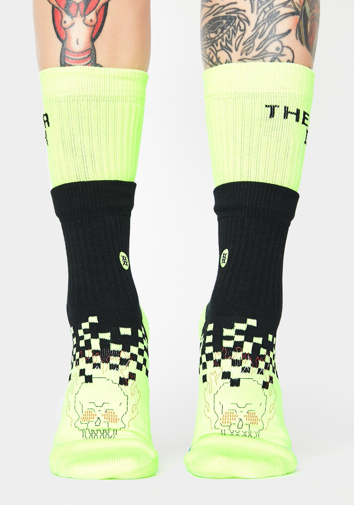 Stance Life's A Glitch Crew Socks