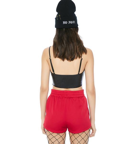 Fighting Chance Stripe Shorts