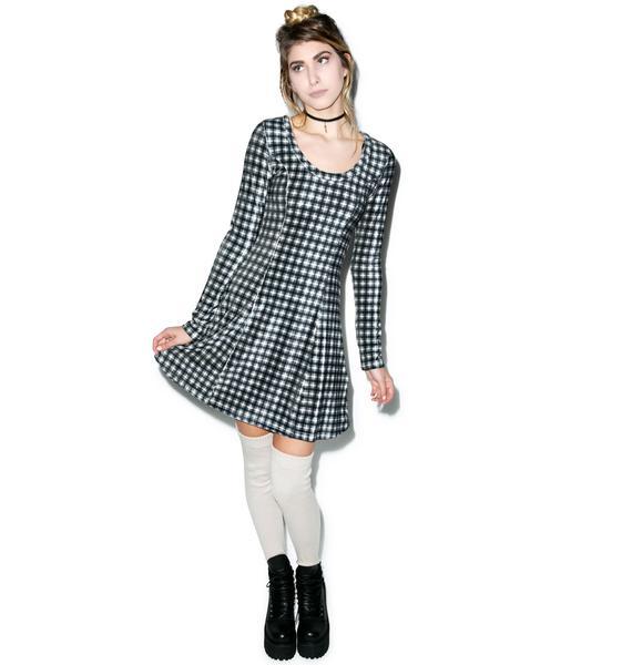 Somedays Lovin What Of It Velvet Crop Dress